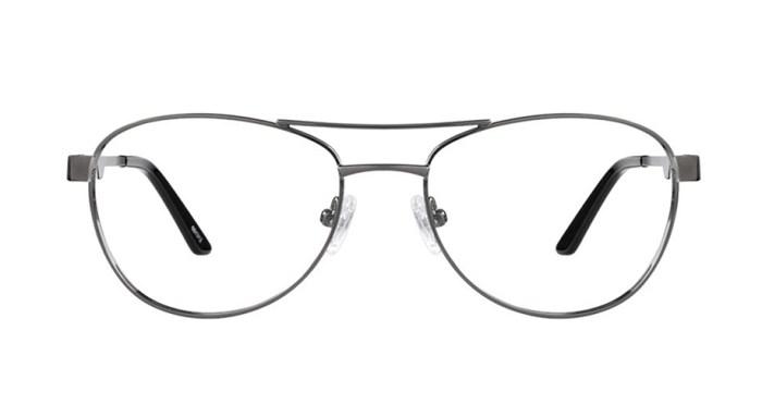 zenni optical aviator thin rimmed glasses