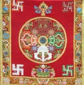 Stendardo Buddhista (tangka)
