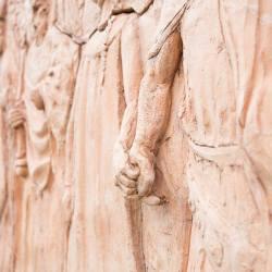Il sentiero delle chiese bizantine - Scultori Violi