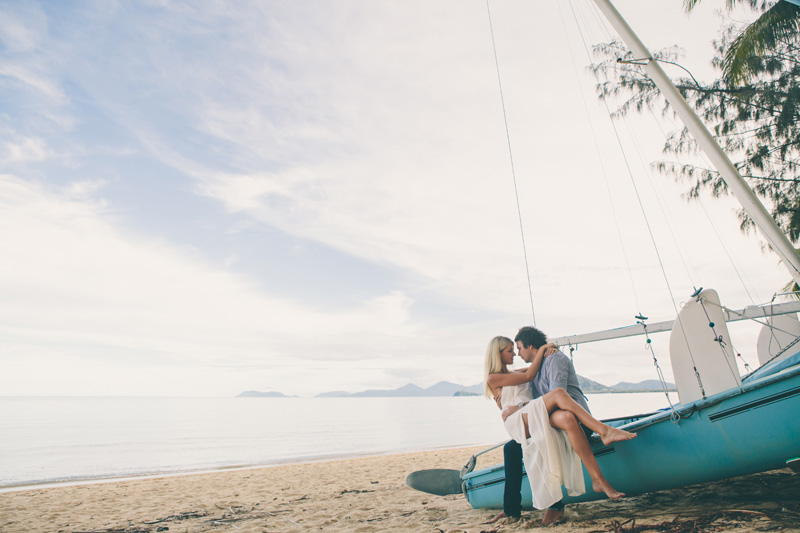 palm cove engagement photography