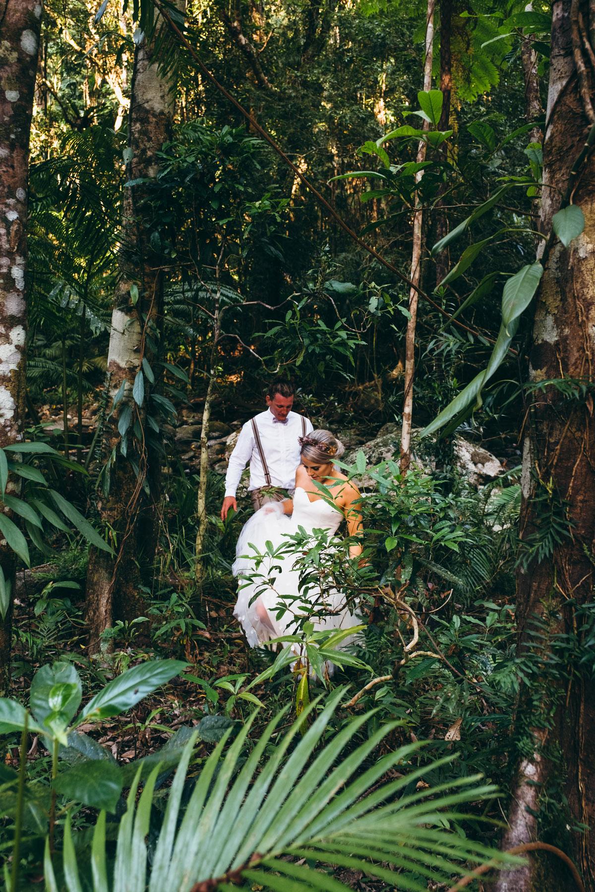 cairns rainforest wedding