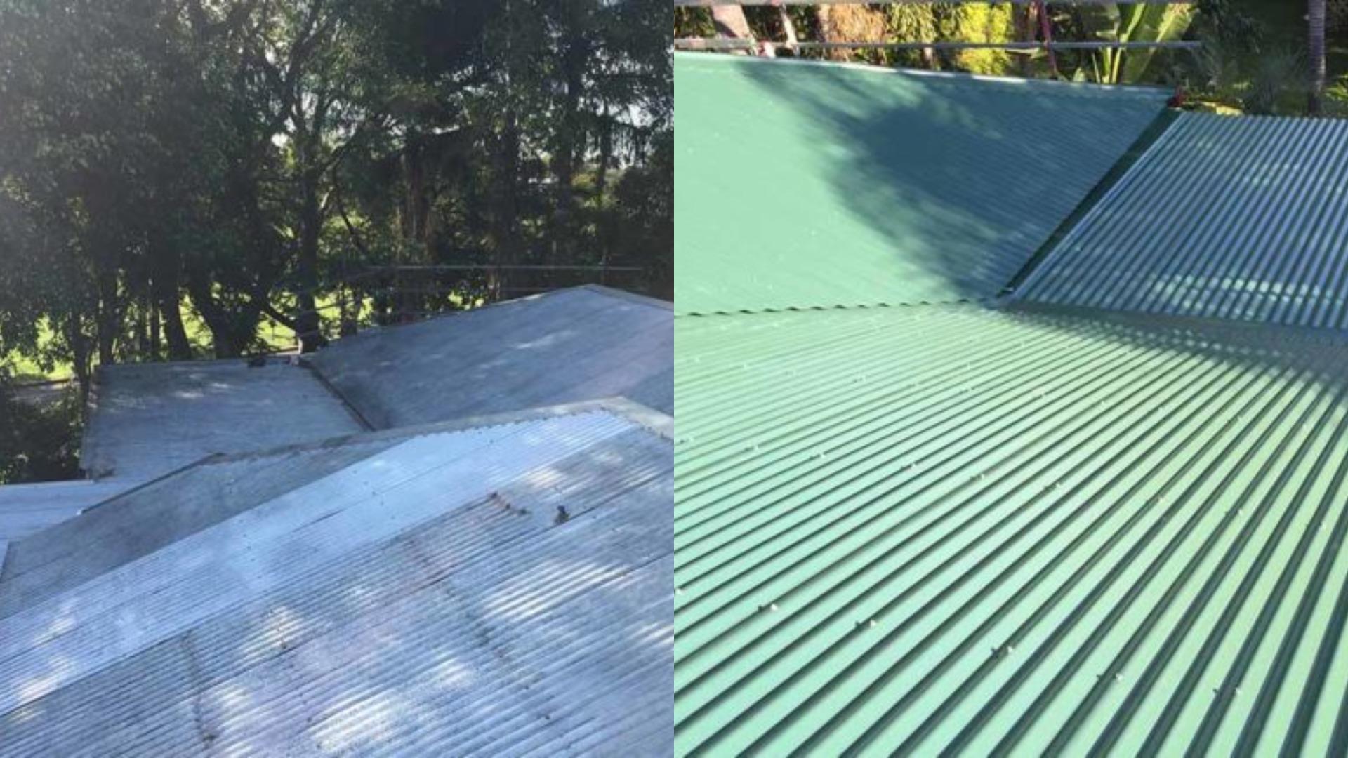 Brisbane metal roof restoration