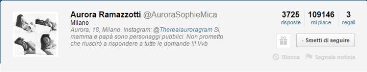 Ask.fm Aurora Ramazzotti