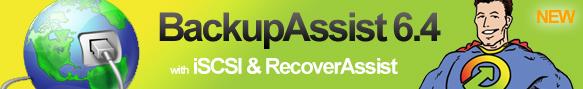 BackupAssist 6.4 header