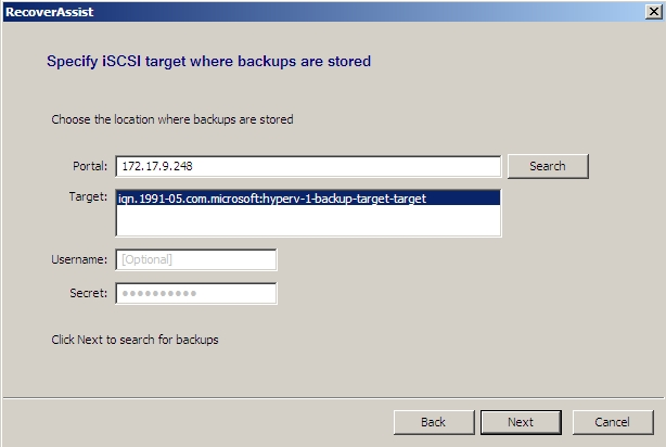 recoverassist-iscsi-working.jpg