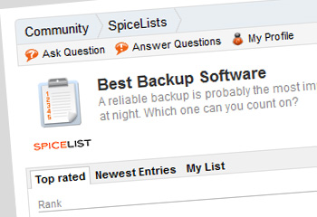Vote for BackupAssist