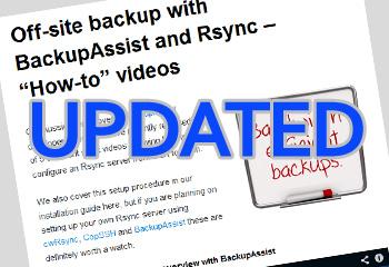 Rsync videos