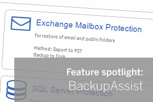 Exchange Granular Restore Console Feature Spotlight