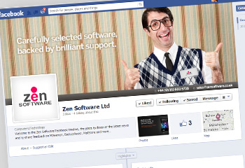 Zen Software's Facebook page