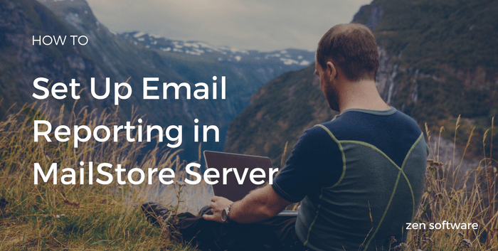 Set up reporting in MailStore