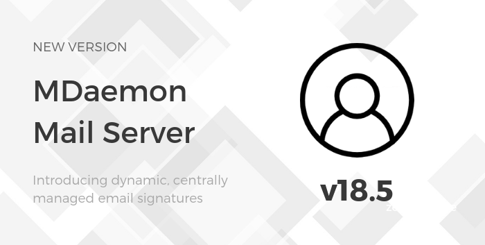 MDaemon and dynamic, centrally managed signatures
