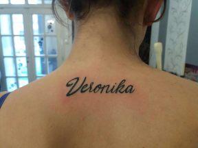 Írás tetoválás