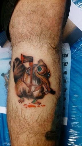 motkány tetoválás