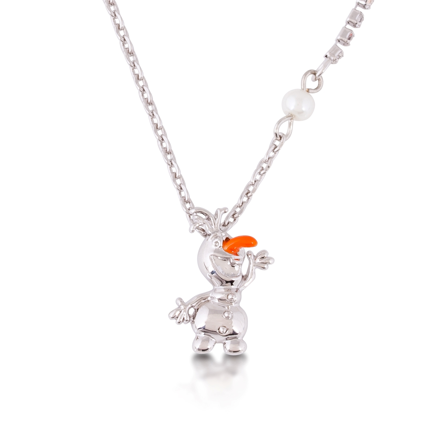 Disney Couture Official Frozen White Gold Plated Olaf