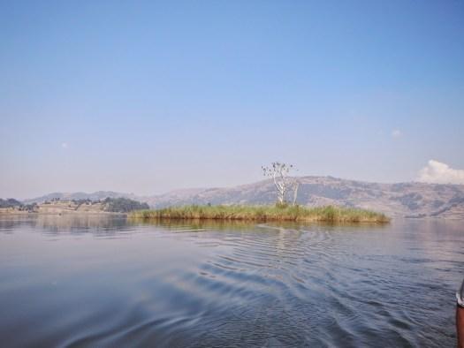 Punishment Island on Lake Bunyonyi