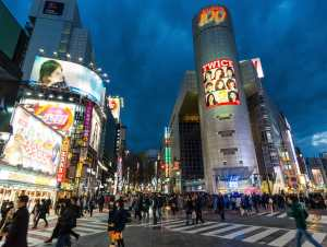 Of course, Shibuya Crossing, Tokyo is great any time of year!