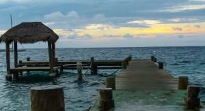 Cozumel Sunset over the Carribean Sea