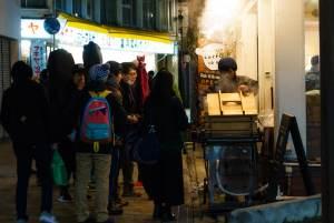 Oyaki Vendor at Nozawa Onsen