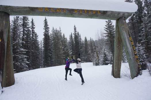 Celebrating Cross-Country Skiing at the Great Divide