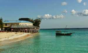 Zanzibar, we didn't want to come back so we started planning our trip around the world