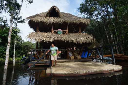Dolphin Eco Lodge, Cuyabeno Reserve Ecuador