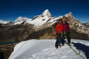 Zentravellers on the summit of Mt Matteo