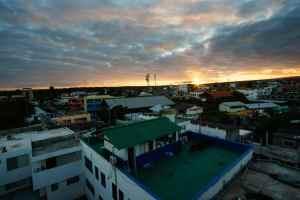 Sunset on Puerto Ayora, Santa Cruz