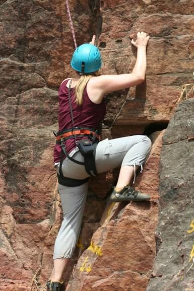 rock climbing in Mali