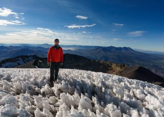 Summit of Misti Volcano