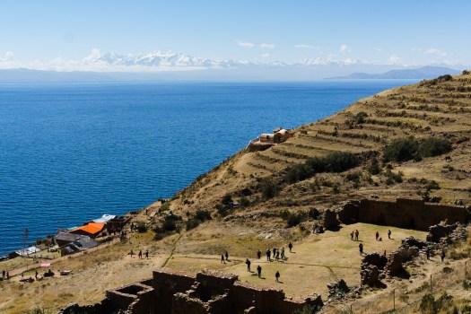 Incan Ruins on Isla de la Luna