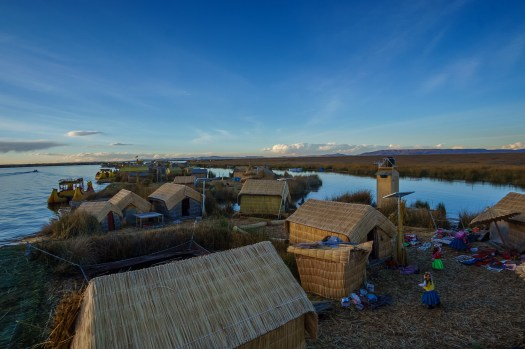 The Uros Floating Reed Islands