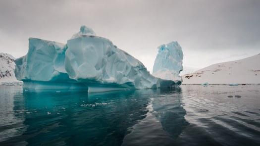 Beautiful Icebergs in Antarctica