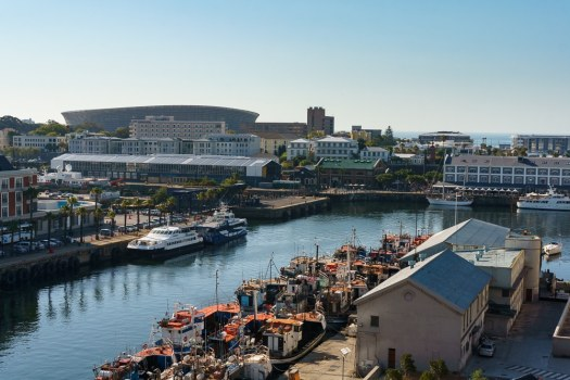 V&A Waterfront from Above