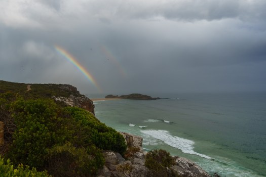 Double Rainbow Garden Route South Africa