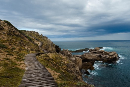 Rugged Coastline on the Garden Route