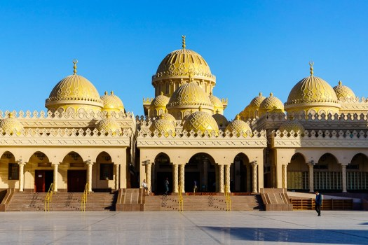 The beautiful Mosque of Hurghada