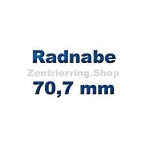 Radnabe 70,7 mm