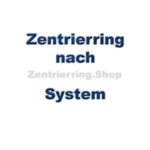 Zentrierringe nach System