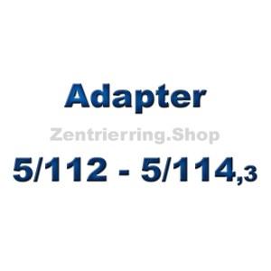 Adapterscheiben 5/112 - 5/114