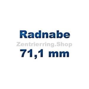 Radnabe 71,1 mm
