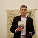 Eiler Ferenc a történész szemszögéből mutatta be a kötetet / Ferenc Eiler stellte das Buch aus der Sicht des Historikers vor