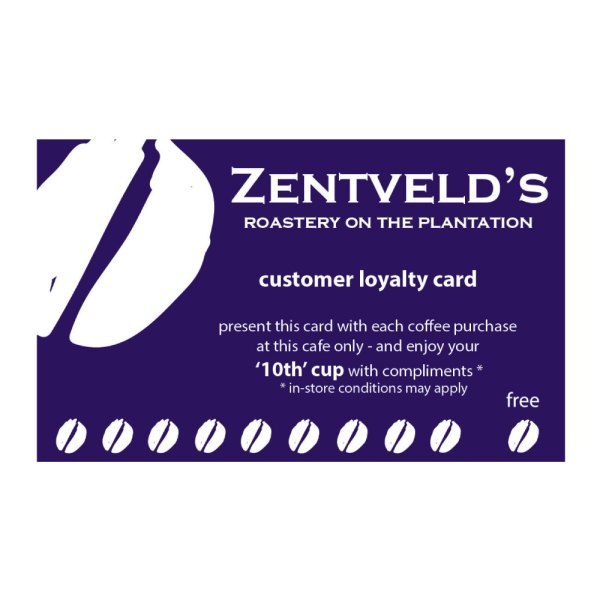 button to buy loyalty cards