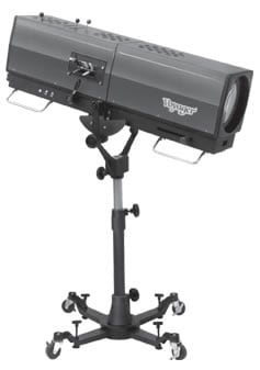 Professional Followspots and Stands