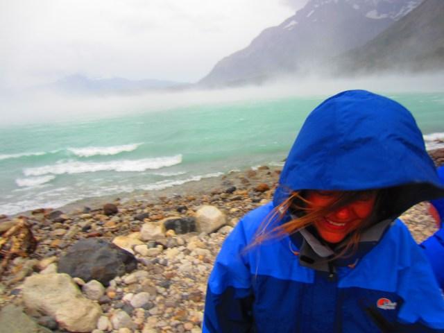 Patagonia Wind on the Lake