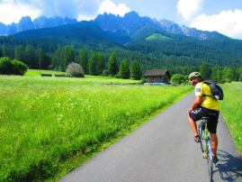 Dolomites 2015 Giovanni says goodby to San Candido