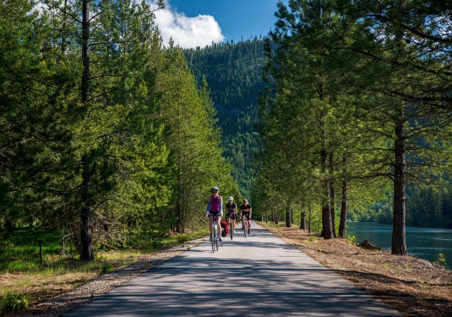 Trail of the Coeur d'Alenes Idaho Biking Adventure