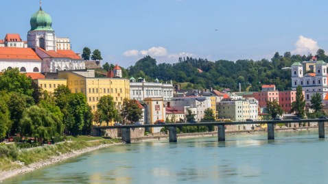 Austria and Germany Danube River Biking Adventure