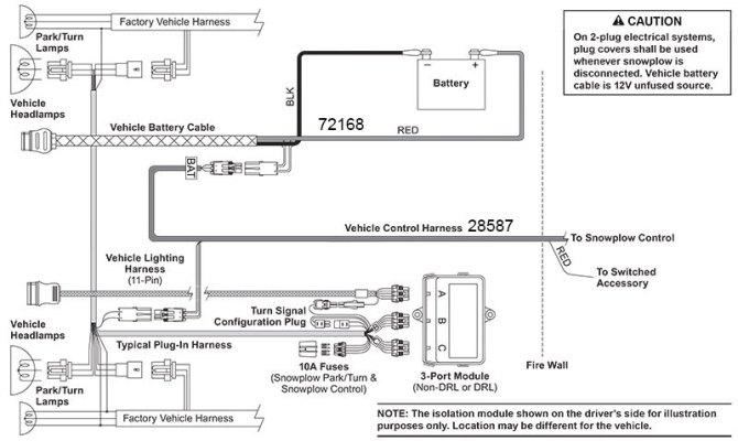 western unimount wiring diagram truck side  filter wiring