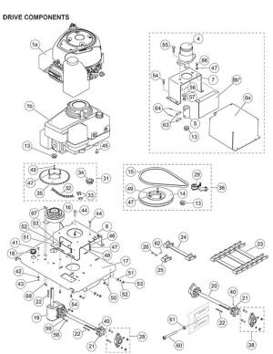 Fisher ProCaster Drive Parts