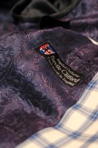 SV50142 サヴィル・クリフォード オーダージャケット ZERBINO銀座店